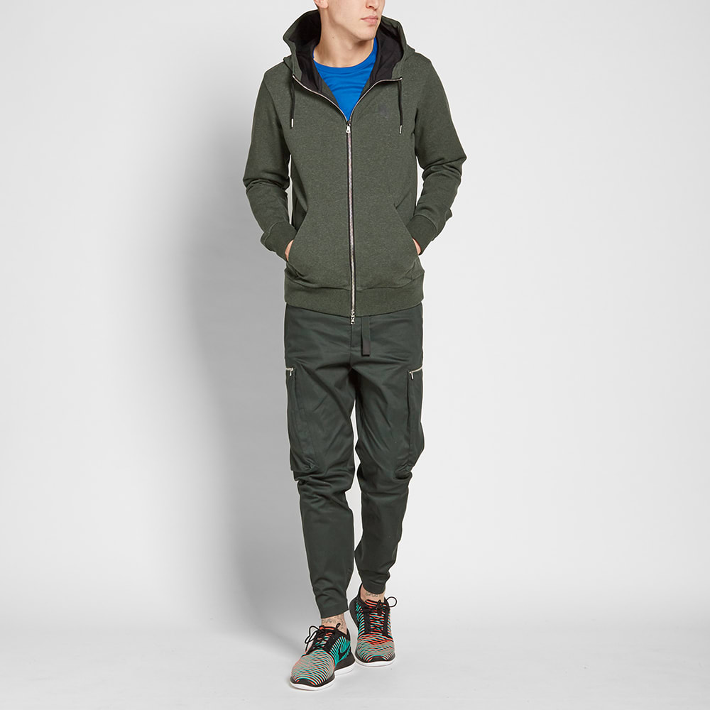 8339fdcf54 NikeLab Essentials Zip Fleece Outdoor Green Heather & Black | END.