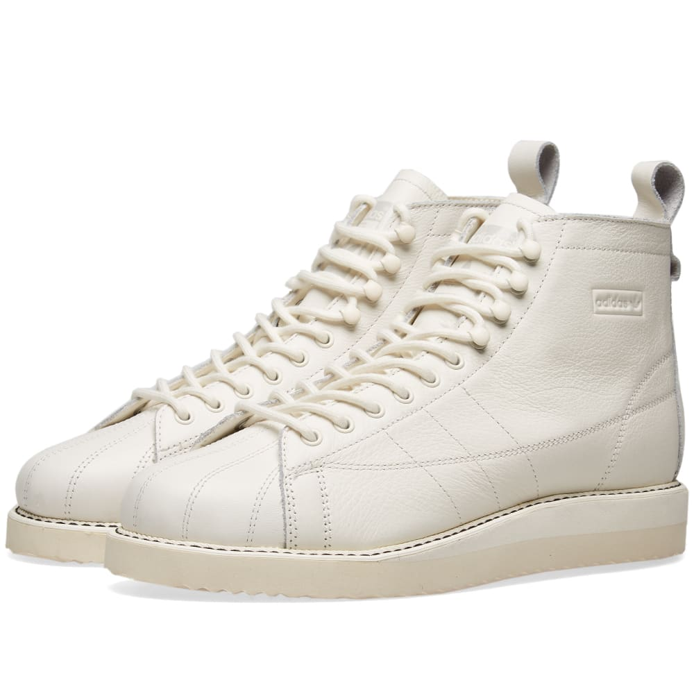 Adidas Superstar Boot W Cloud White \u0026 Off White | END.