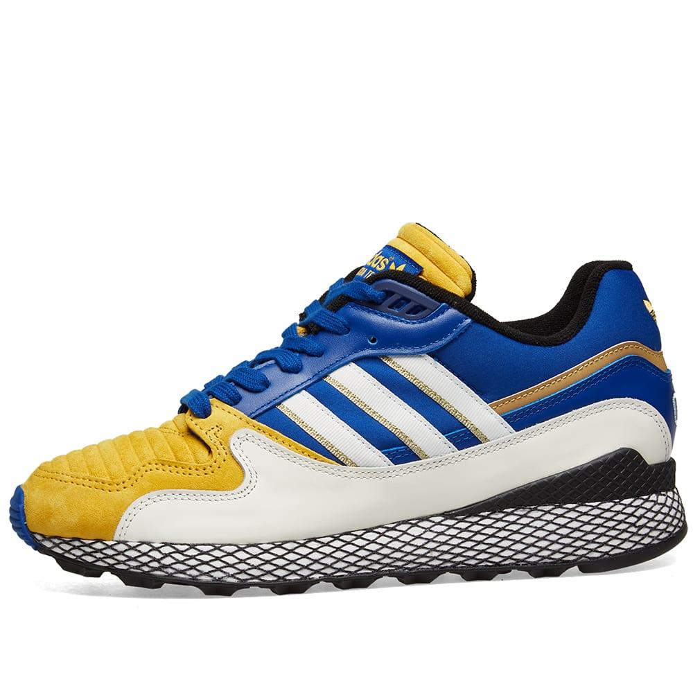 sports shoes 5ffac 65157 Adidas x Dragonball Z Ultra Tech 'Vegeta'