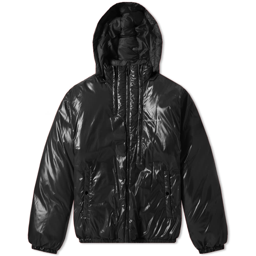 Givenchy Light Nylon Logo Down Jacket by Givenchy