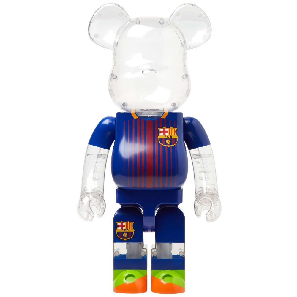 a55d1e60 Medicom F.C Barcelona Be@rbrick Blue 1000% | END.