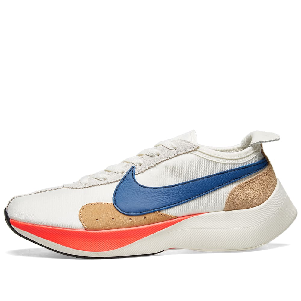 best sneakers 3f825 38a6e Nike Moon Racer QS Sail, Gym Blue & Red | END.
