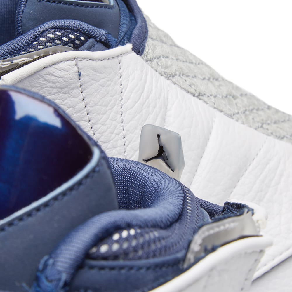 sports shoes 2eb61 7b6ea Nike Air Jordan 16 Retro. White   Midnight Navy