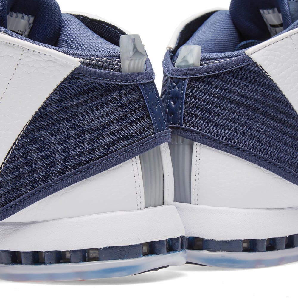 Nike Air Jordan 16 Retro White & Midnight Navy | END.