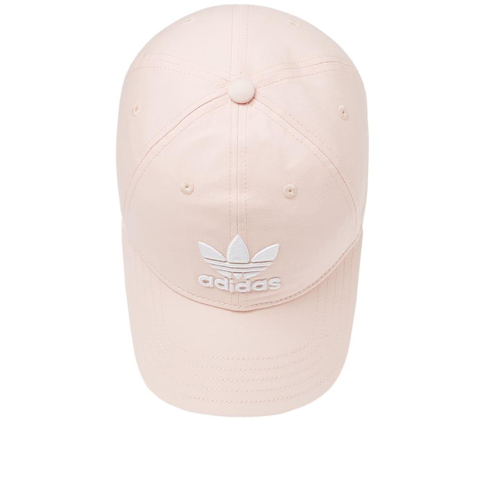 d05d97967aa Adidas Trefoil Cap Blush Pink   White