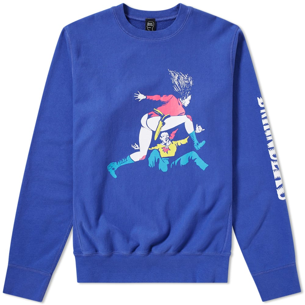 BRAIN DEAD REVENGER CREW SWEAT