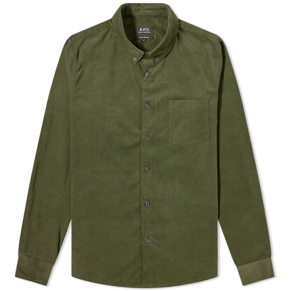 A.P.C. Serges Baby Cord Shirt