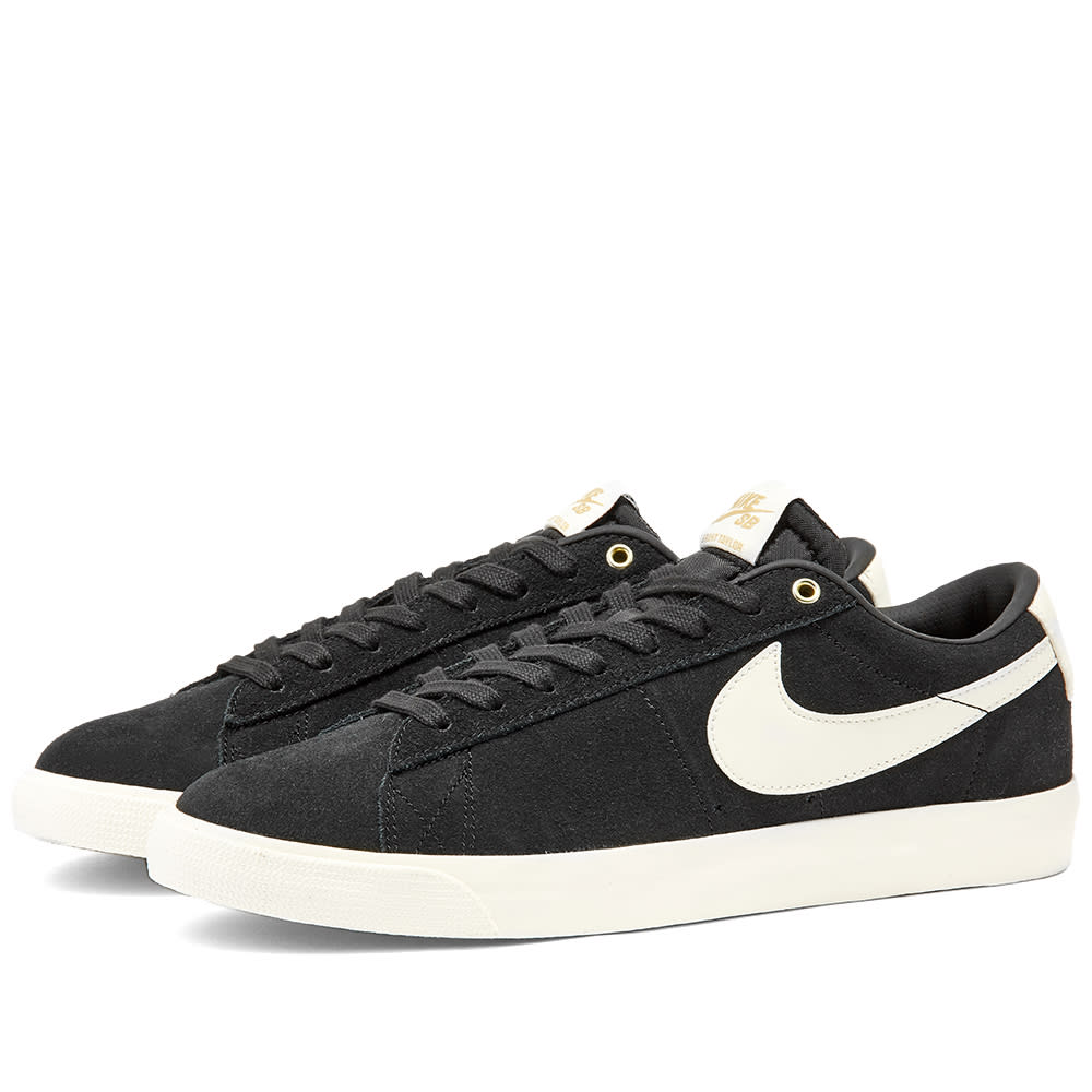 Descompostura rifle demandante  Nike SB Zoom Blazer Low GT Black & Sail | END.