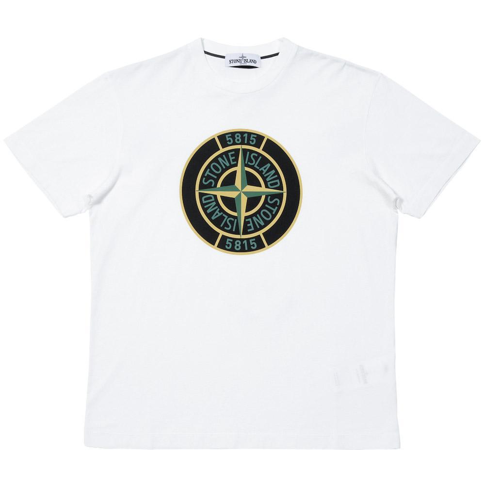 Stone Island White Compass
