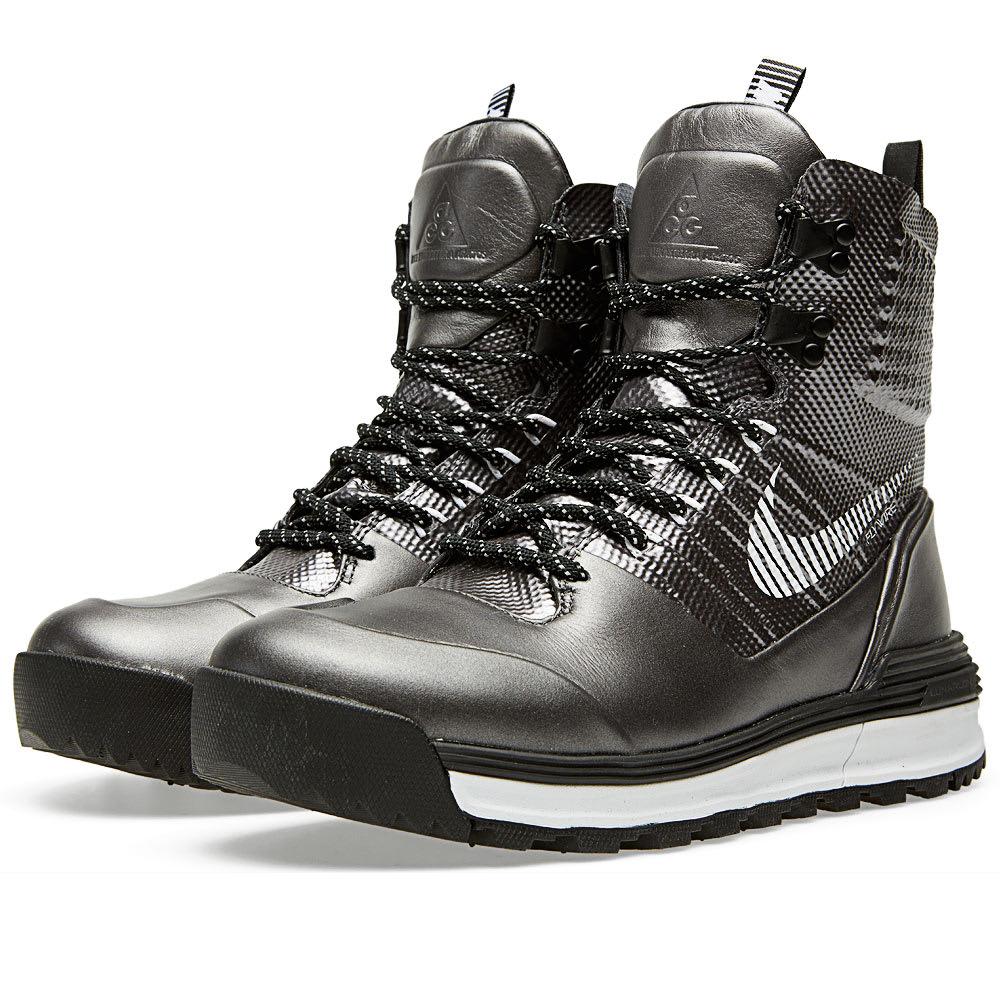 outlet store 1c6b2 538f3 Nike Lunarterra Arktos QS  Superbowl  Metallic Dark Grey   END.