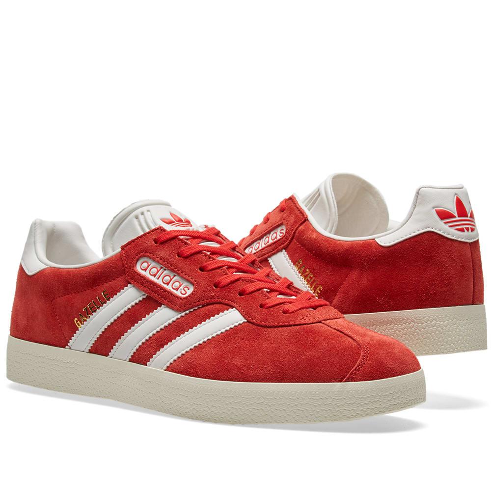 and super adidas gazelle noir red 54Rqc3jLA