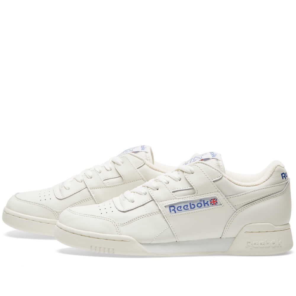 dc7a1661f07 Reebok Workout Plus Vintage Premium Chalk   Classic White