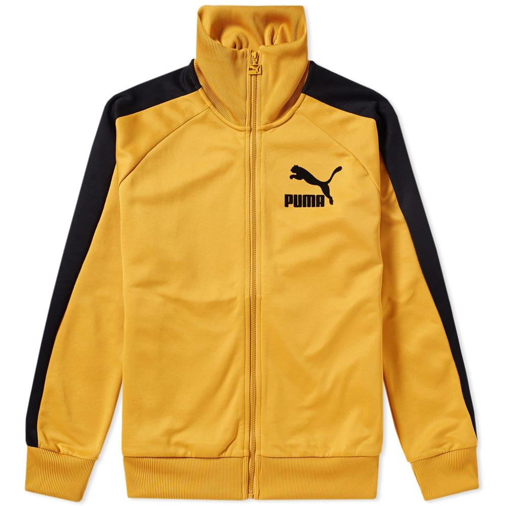 f416f031d99f Puma T7 Vintage Track Jacket Mineral Yellow   White