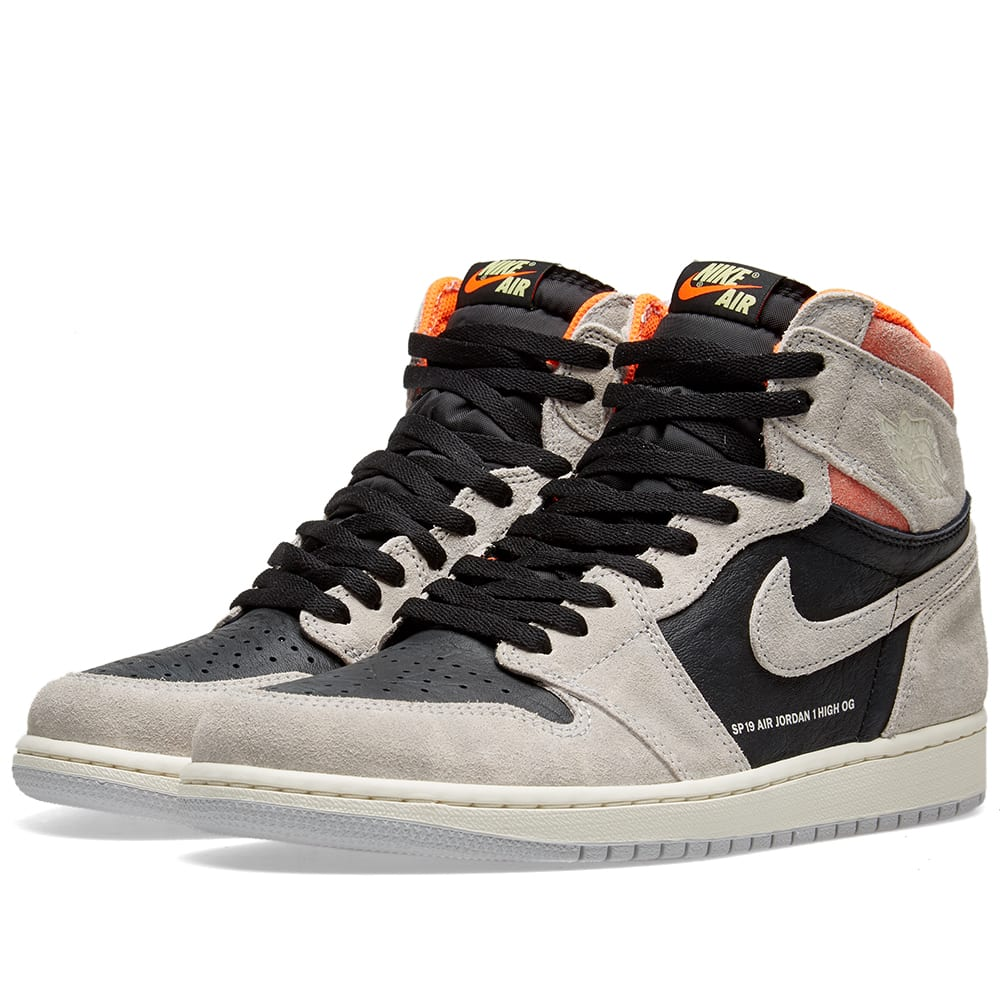 separation shoes ebeb3 60724 Air Jordan 1 Retro High OG Grey, Black, Crimson   White   END.