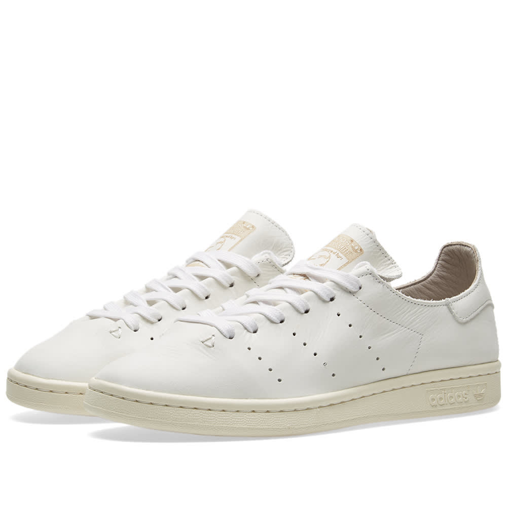 sports shoes 79e68 1f83b Adidas Stan Smith Leather Sock