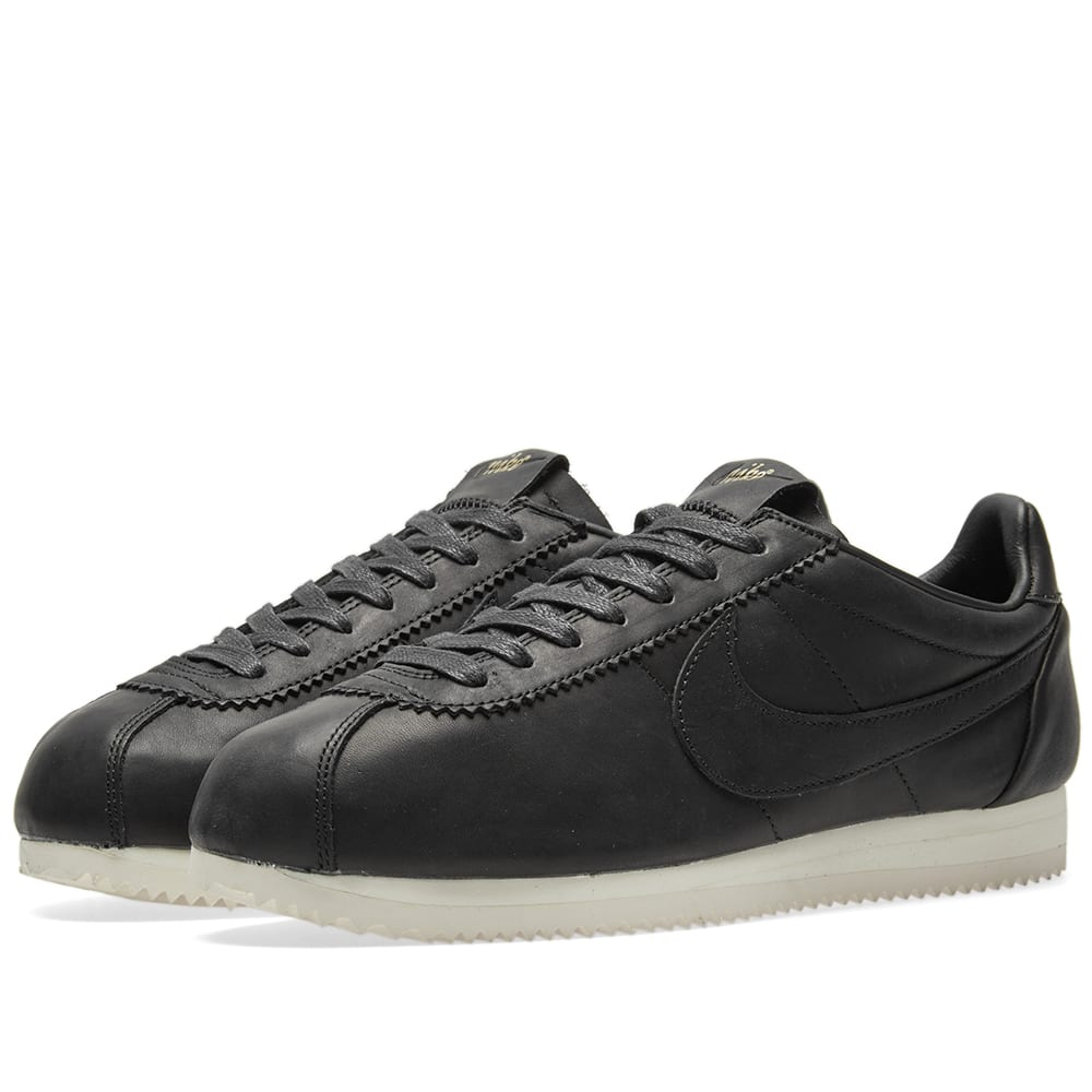 low priced 68c45 26c0f Nike Classic Cortez Premium QS TZ Black   Sail   END.