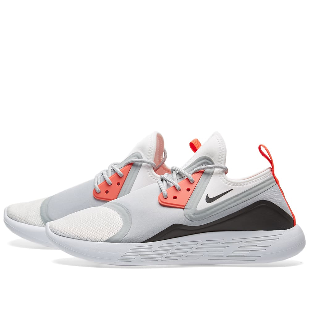 on sale 77567 7954c Nike Lunarcharge BN Wolf Grey   White   END.