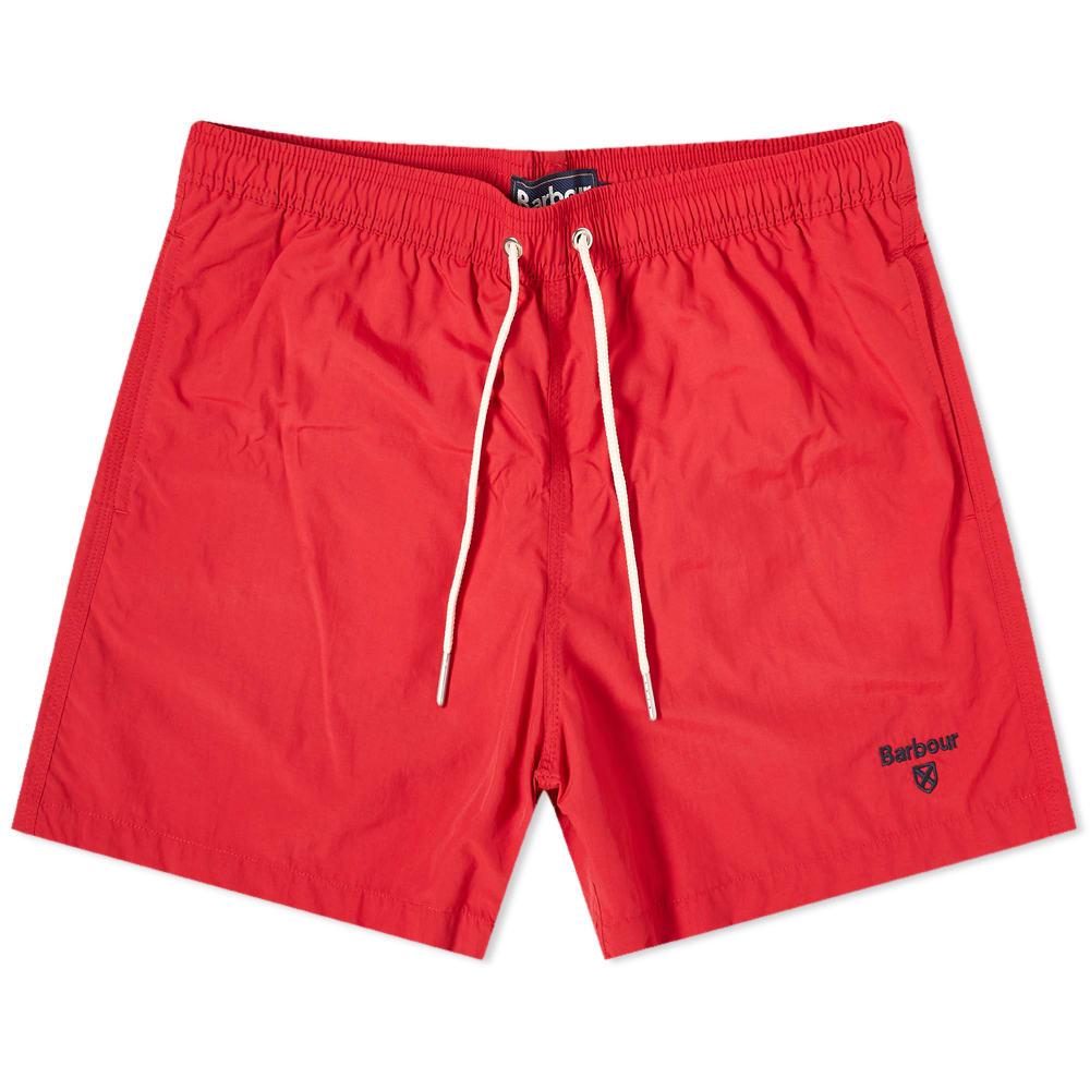 swim shorts red