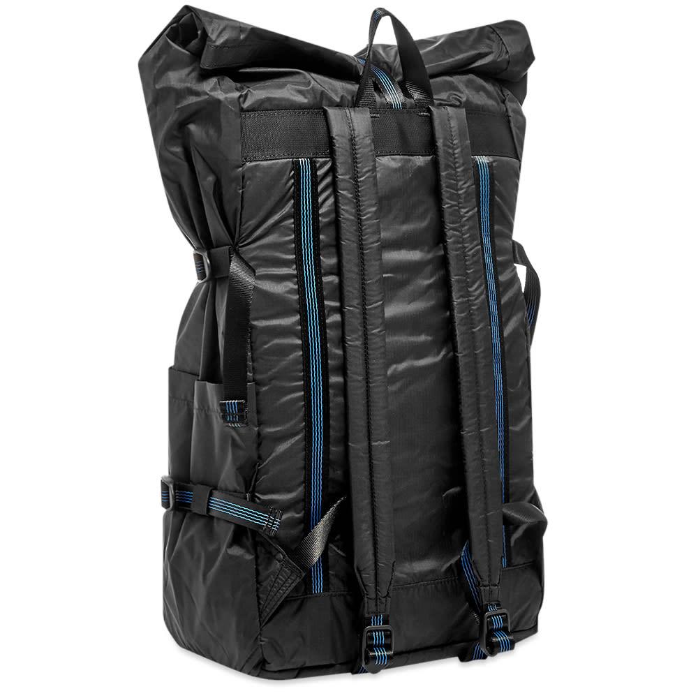most popular cheap for sale official photos Sandqvist Bernt Lightweight Roll-Top Backpack Black | END.