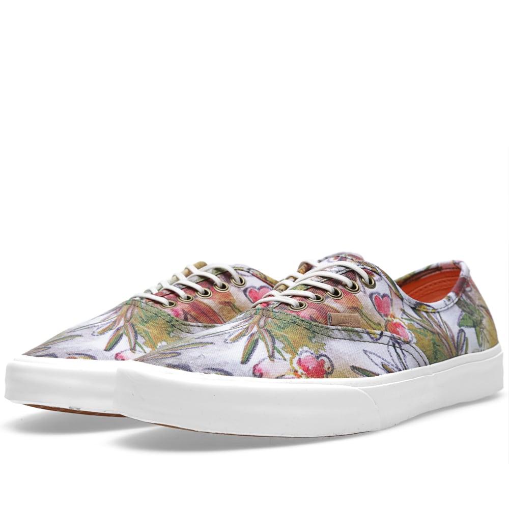 Vans California – Authentic Floral Camo