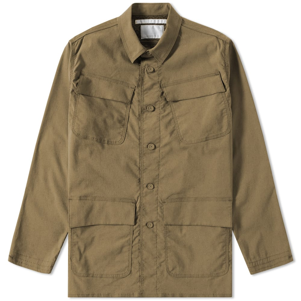 WHITE MOUNTAINEERING MILITARY SHIRT JACKET