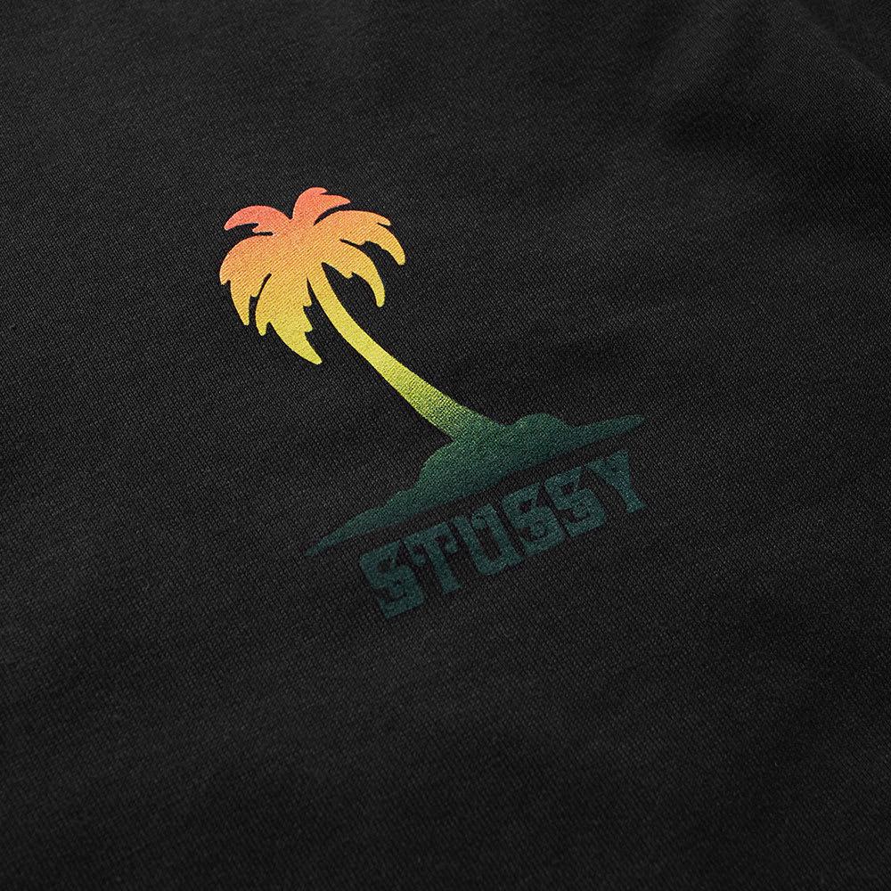57c0b8e94 Stussy Long Sleeve Jamaica NP Tee Black | END.