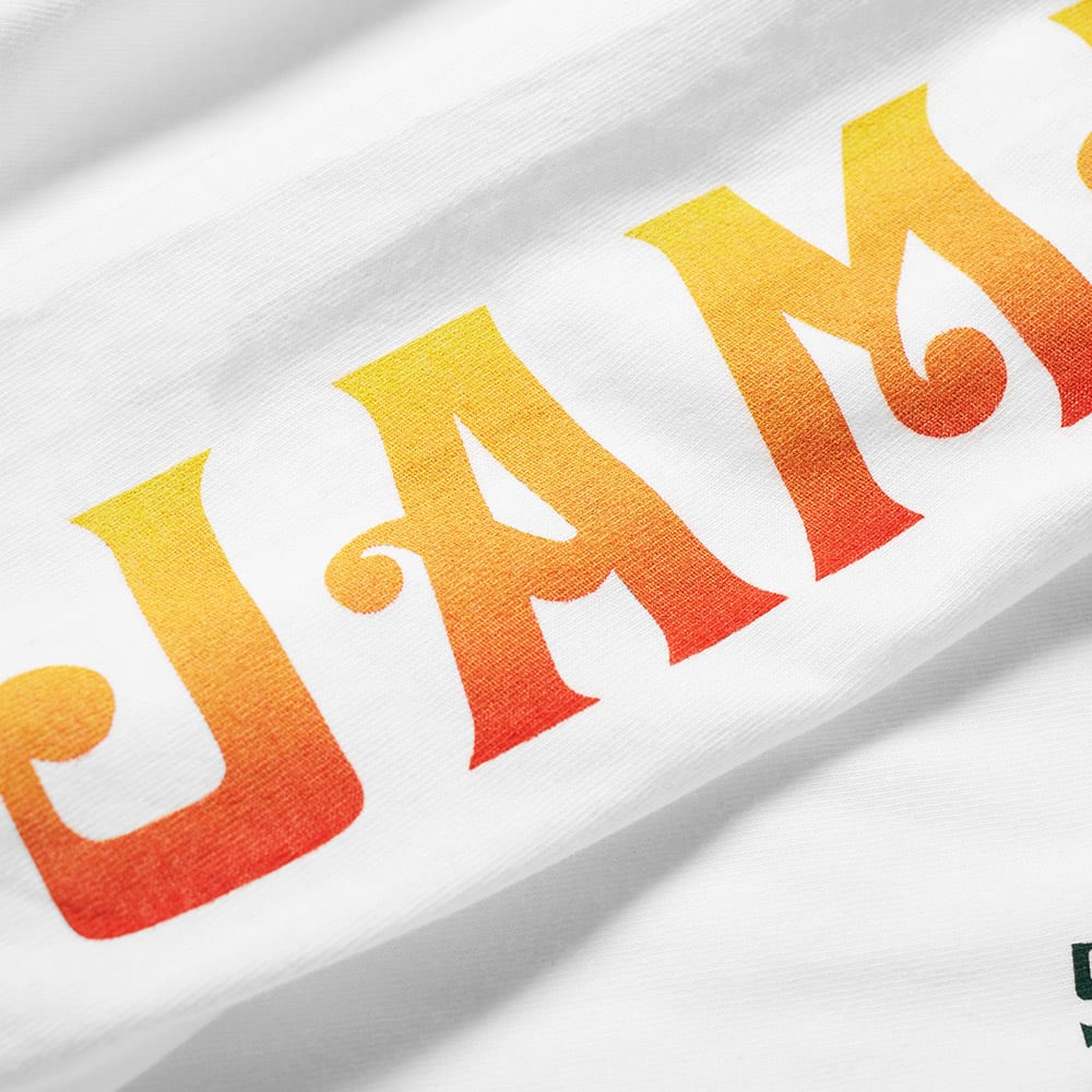 f9e6c9221 Stussy Long Sleeve Jamaica NP Tee White | END.