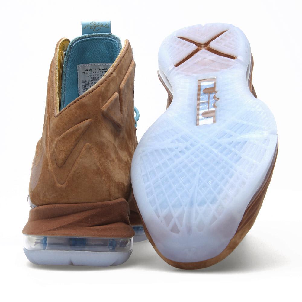 competitive price 88524 8ed10 Nike LeBron X EXT QS  Hazelnut  Hazelnut   END.