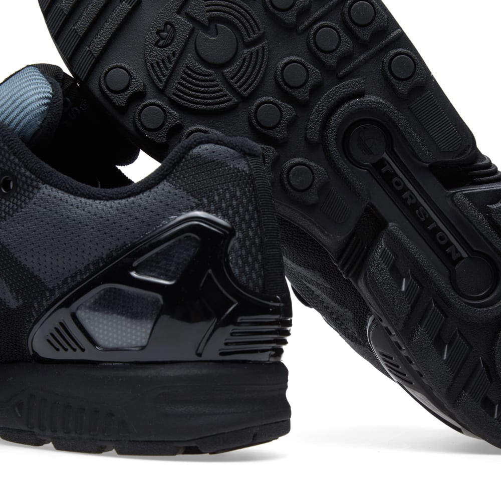 the latest ceb8a 8bd09 Adidas ZX Flux Weave OG GTX Black   END.