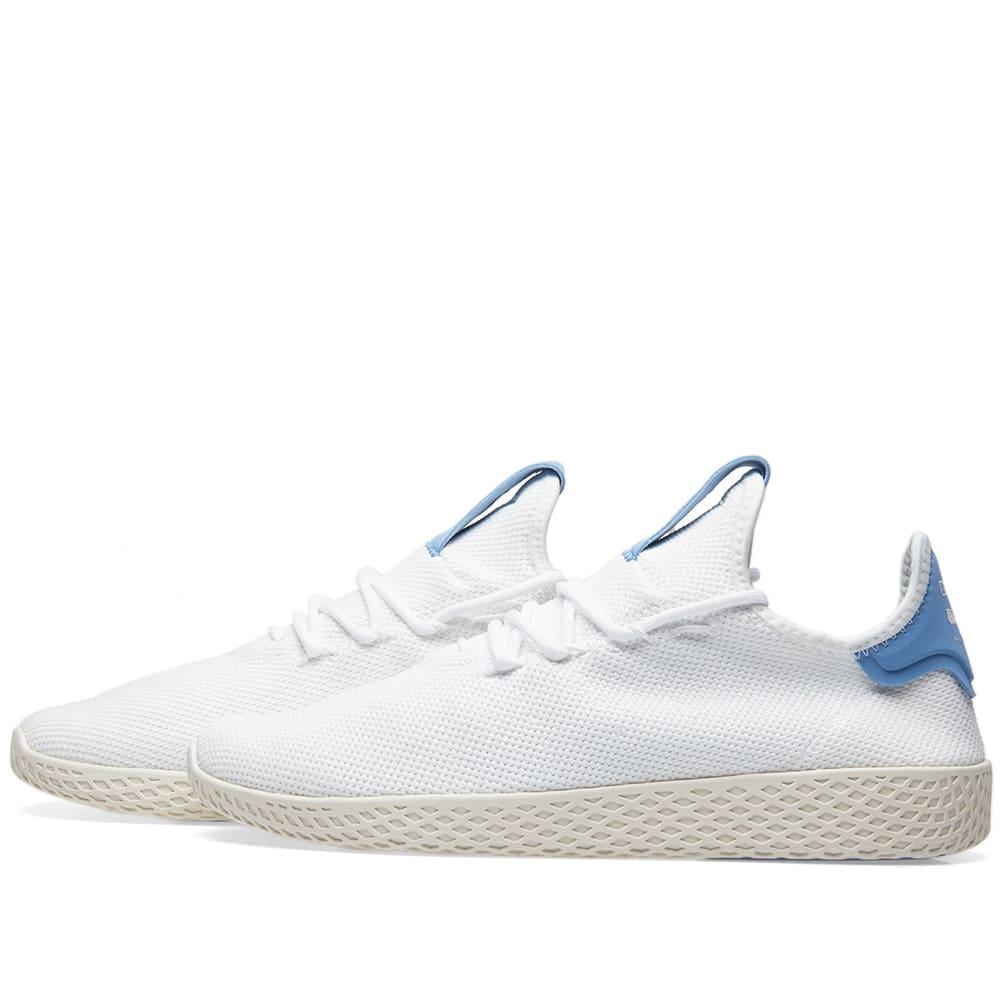 e15ff6819 Adidas x Pharrell Williams Tennis Hu White   Blue