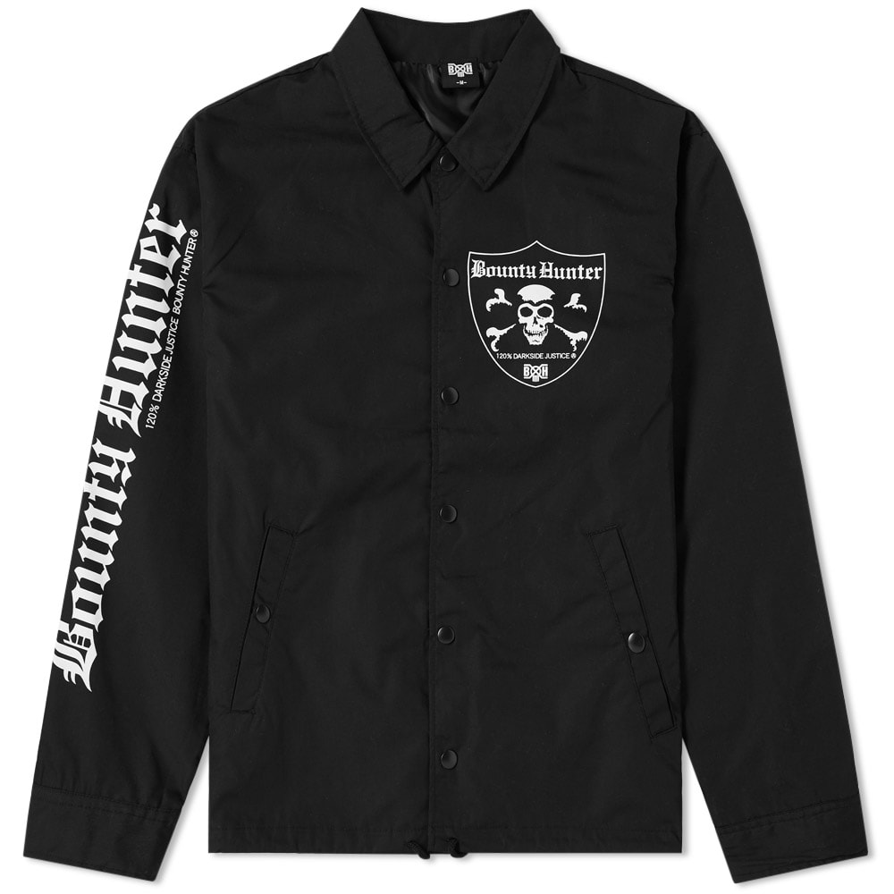 BOUNTY HUNTER EMBLEM SKULL COACH JACKET