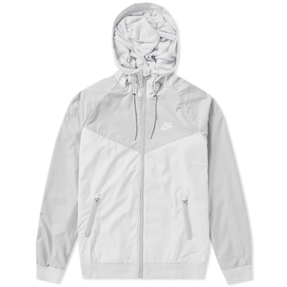 c3864d5b4 Nike Windrunner Jacket Pure Platinum & Wolf Grey | END.