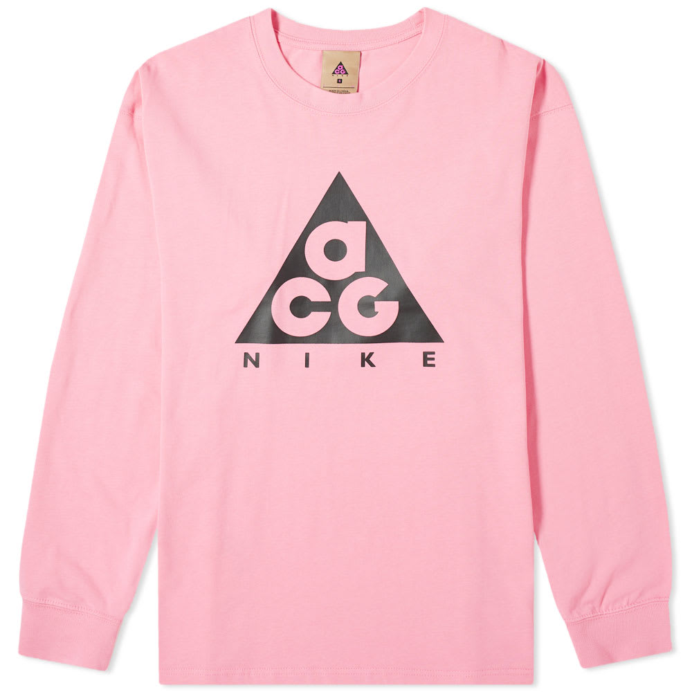 nike pink long sleeve
