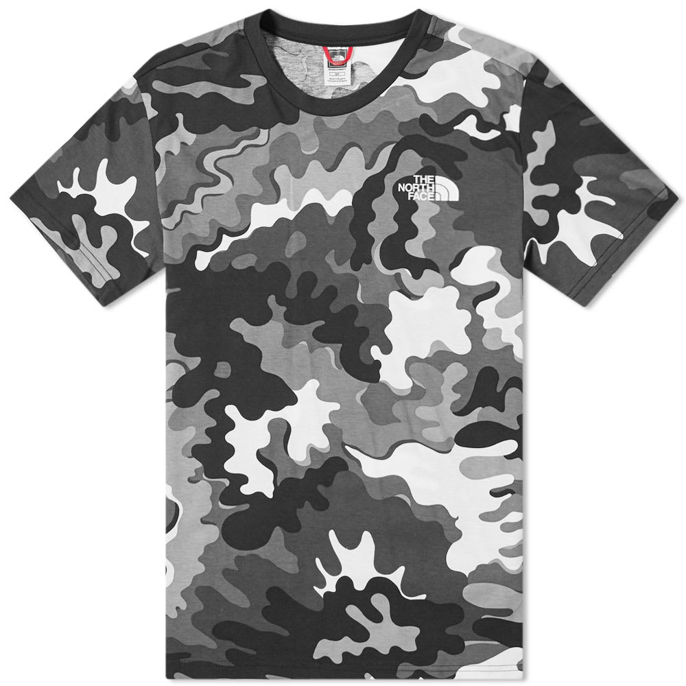 099c6ee6d The North Face Psychedelic Camo Simple Dome Tee