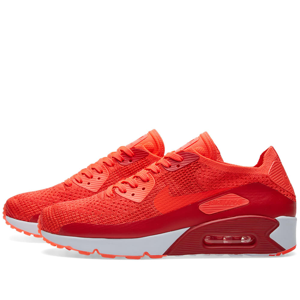 watch 1aa74 0068f Nike Air Max 90 Ultra 2.0 Flyknit Bright Crimson   END.