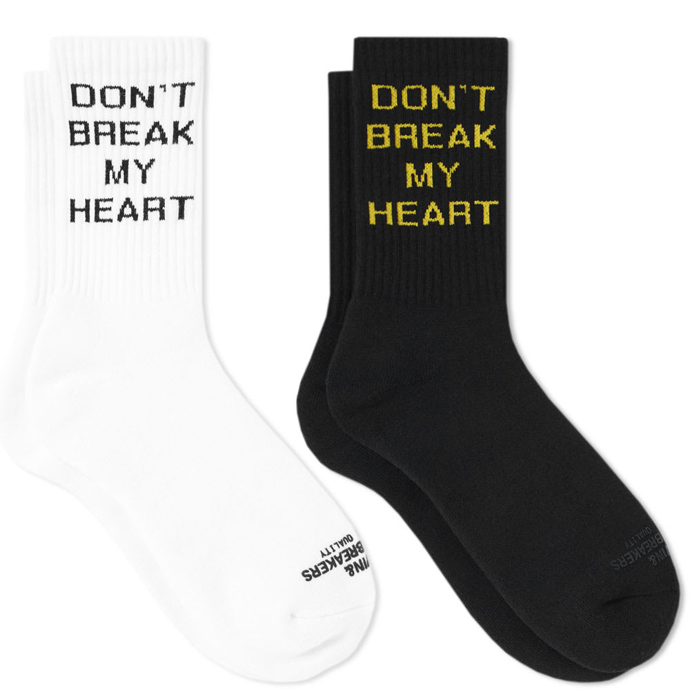 BEDWIN & THE HEARTBREAKERS HEARTBREAK SOCK - 2 PACK