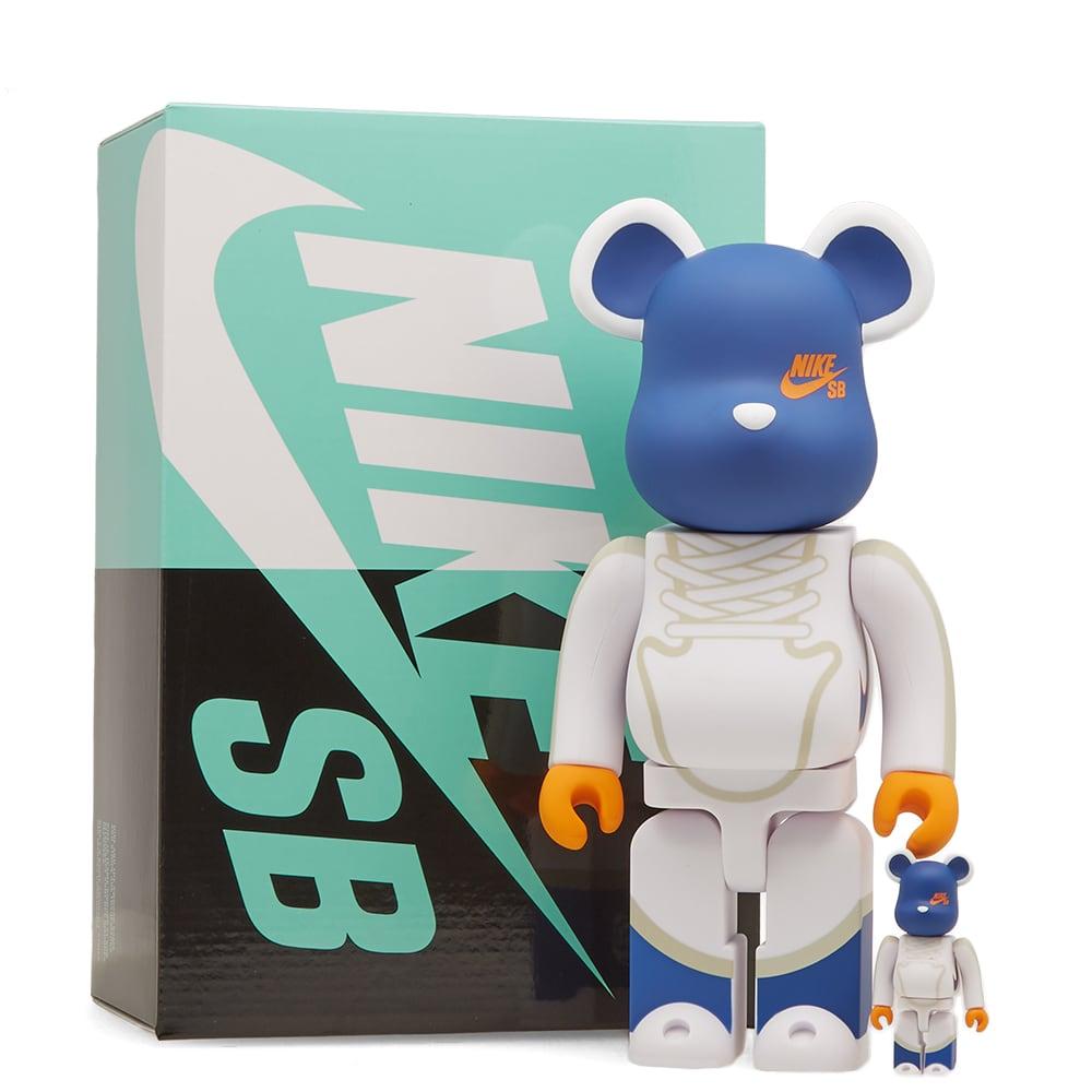 buying cheap sale best authentic Medicom x Nike SB Dunk Elite Hi Be@rbrick