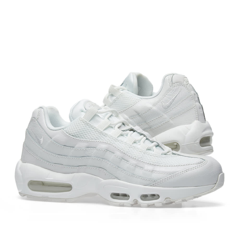 6277e92e60 Nike Air Max 95 Premium W Summit White & Vast Grey | END.