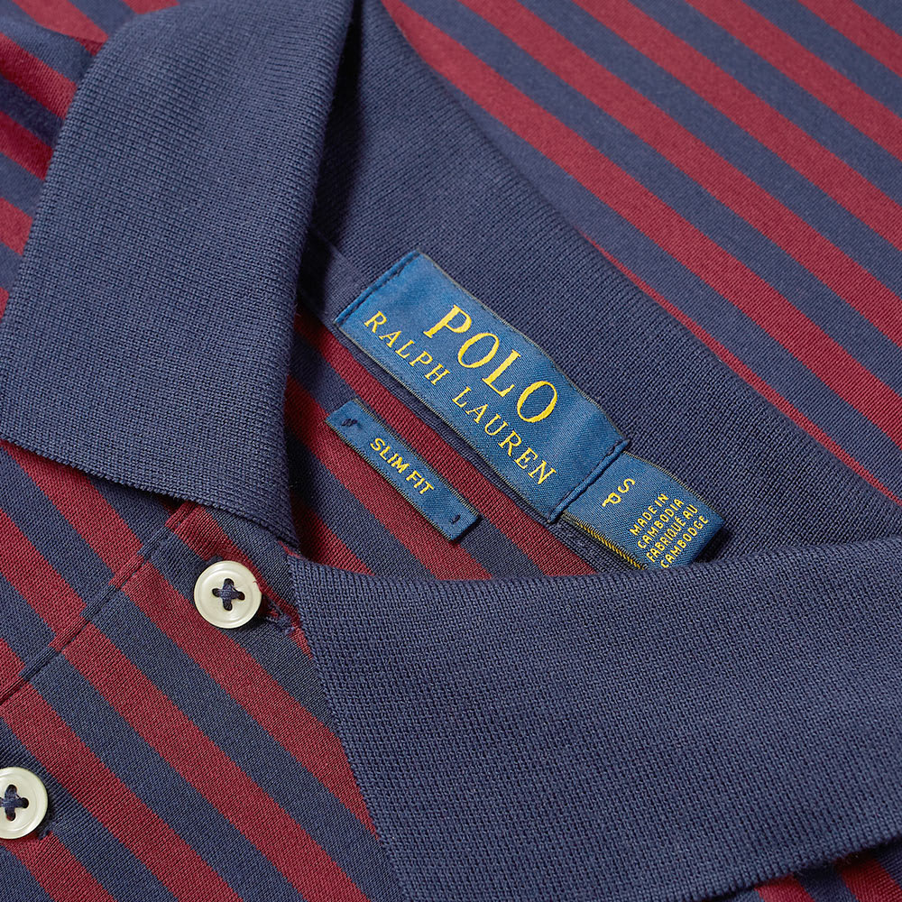 Polo Ralph Stripe Lauren Ralph Lauren Stripe Polo Polo Jersey Ralph Jersey P8nwOk0