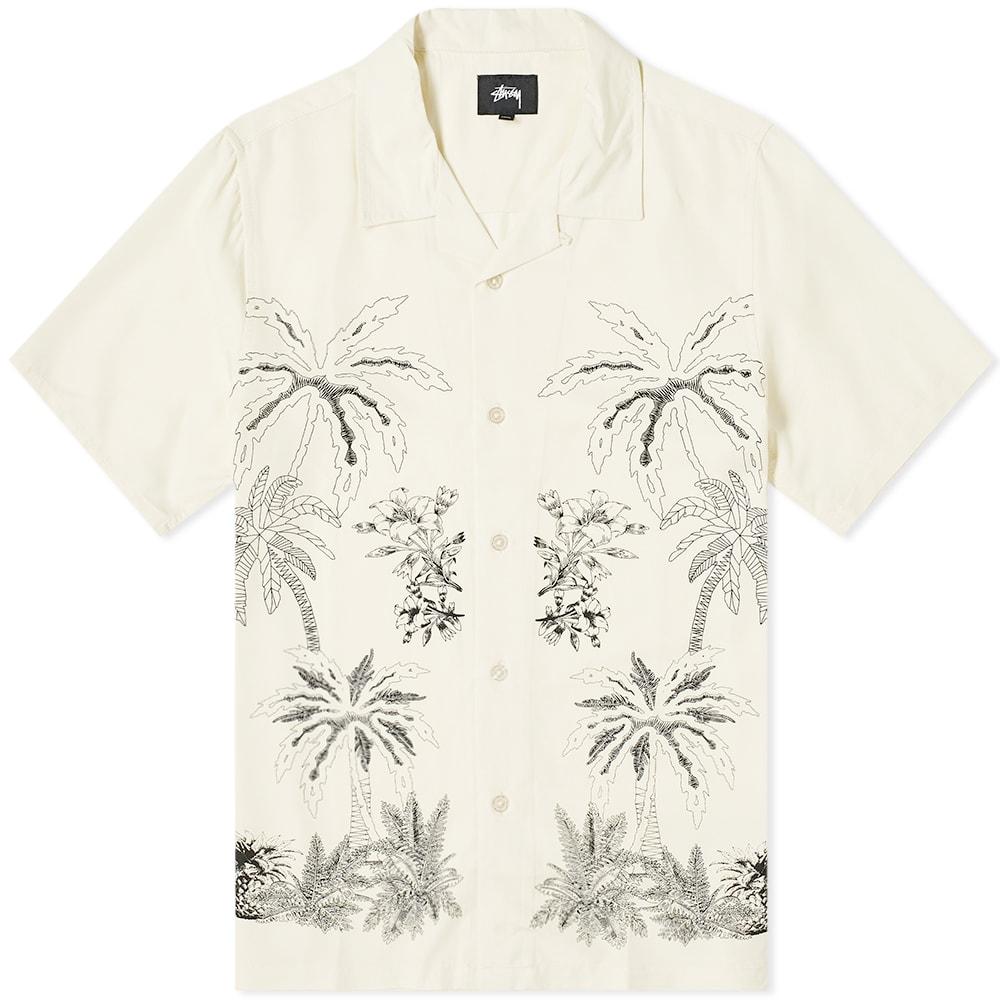 532d2e5aa2c7ff Stussy Palm Tree Shirt Off White | END.