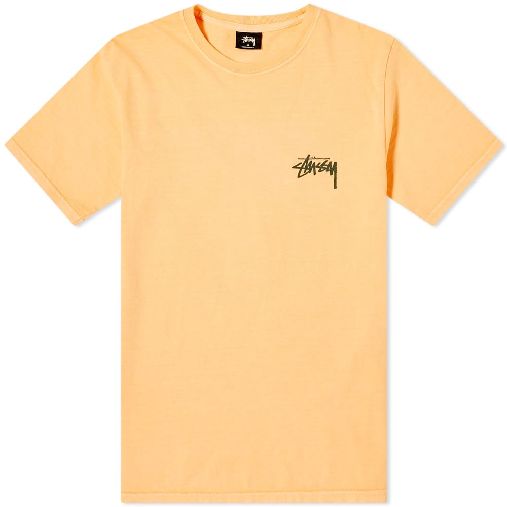 77fbb0ef Stussy Pigment Dyed Painter Tee Coral | END.