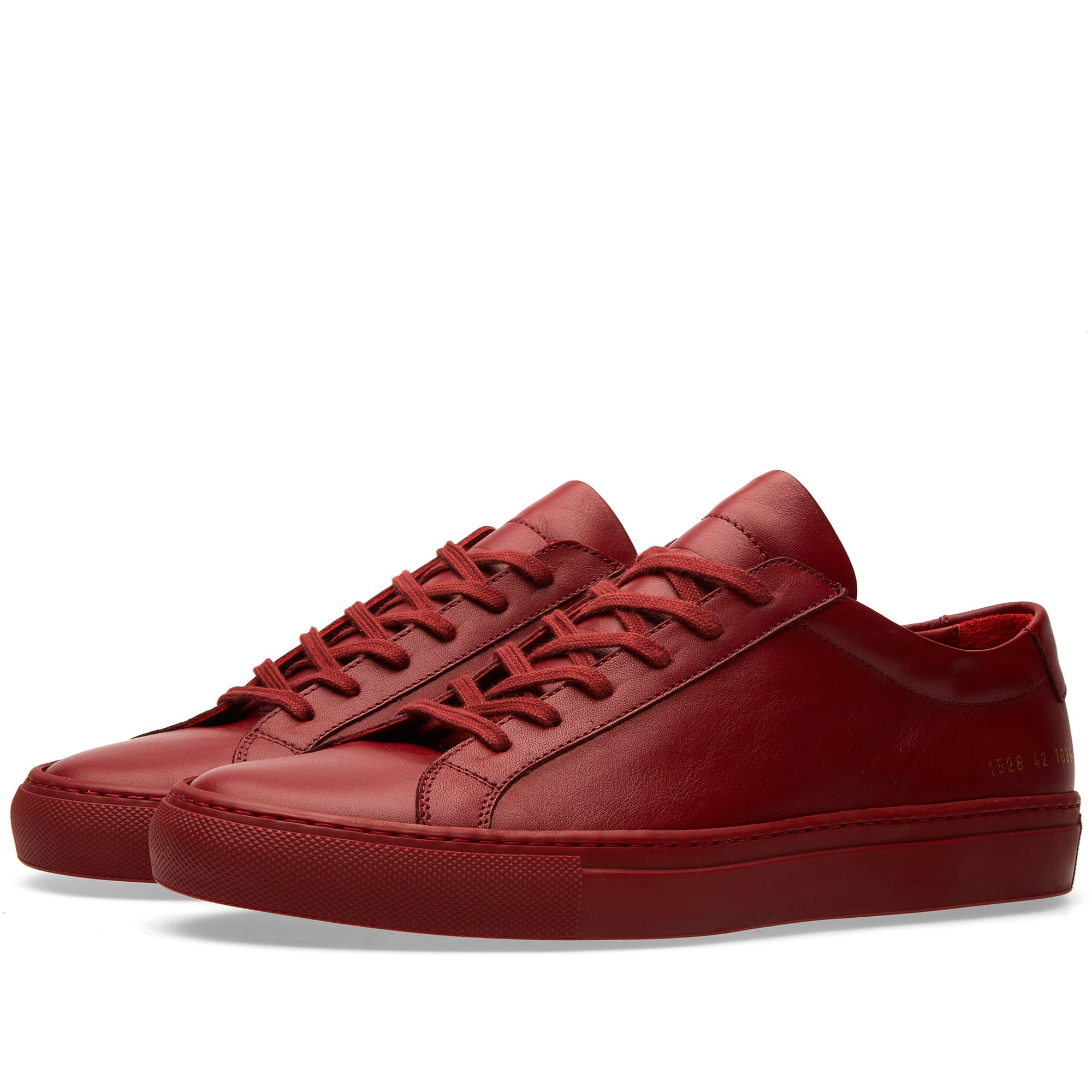 common projects original achilles low red. Black Bedroom Furniture Sets. Home Design Ideas
