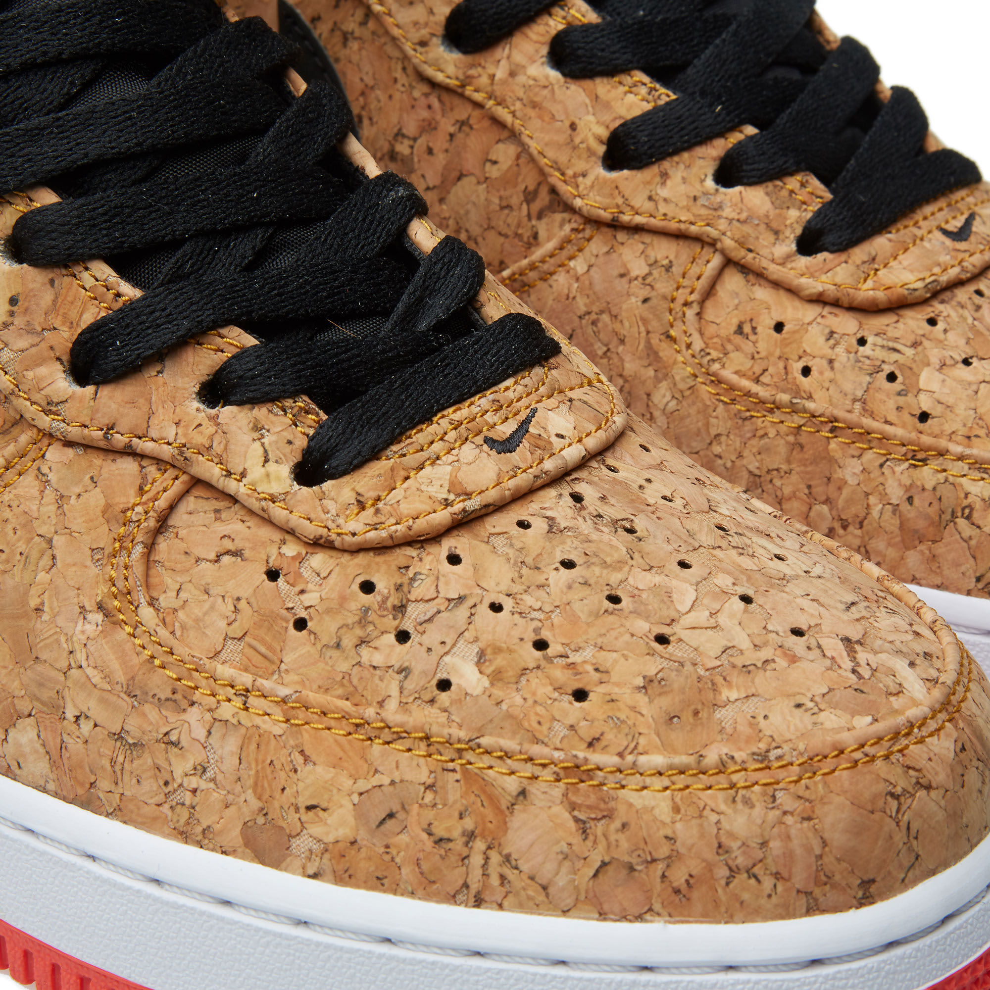 Nike Air Force 1 Mid Cork & Infrared | Street Sneakers