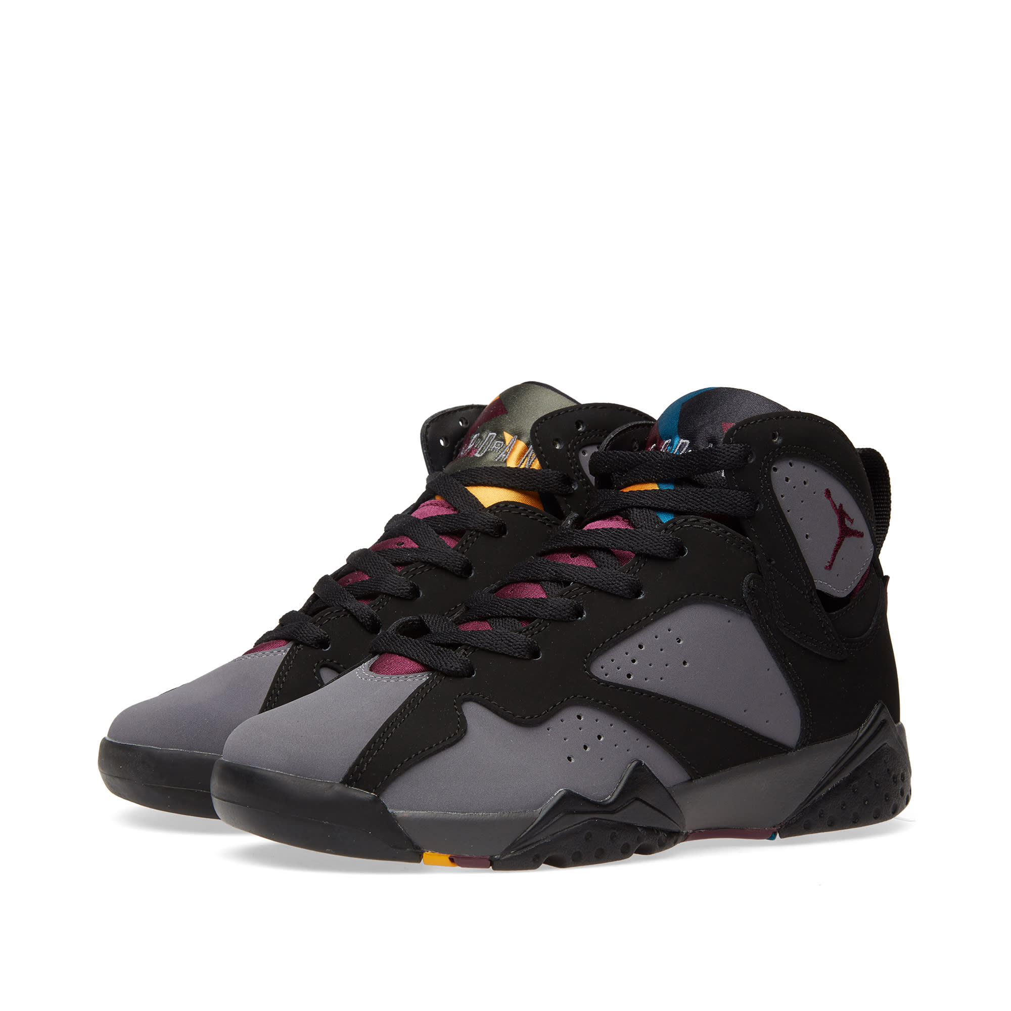 buy popular 13cfd d8195 Nike Air Jordan VII Retro BG Black, Bordeaux   Graphite   END.