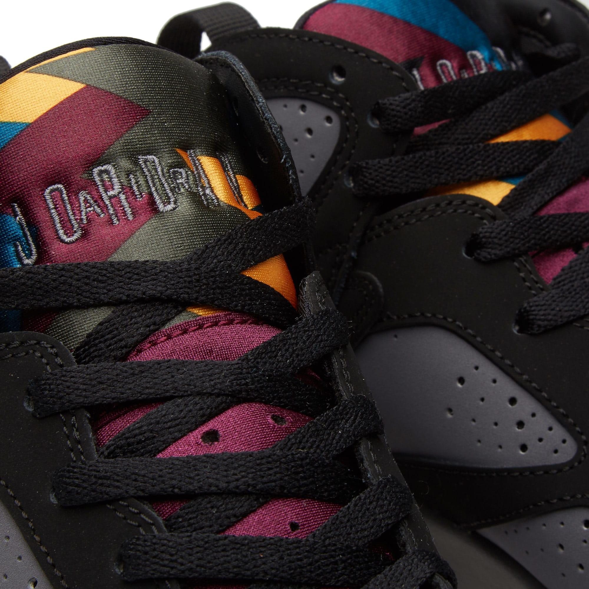 108abb3ad76887 Nike Air Jordan VII Retro BG Black