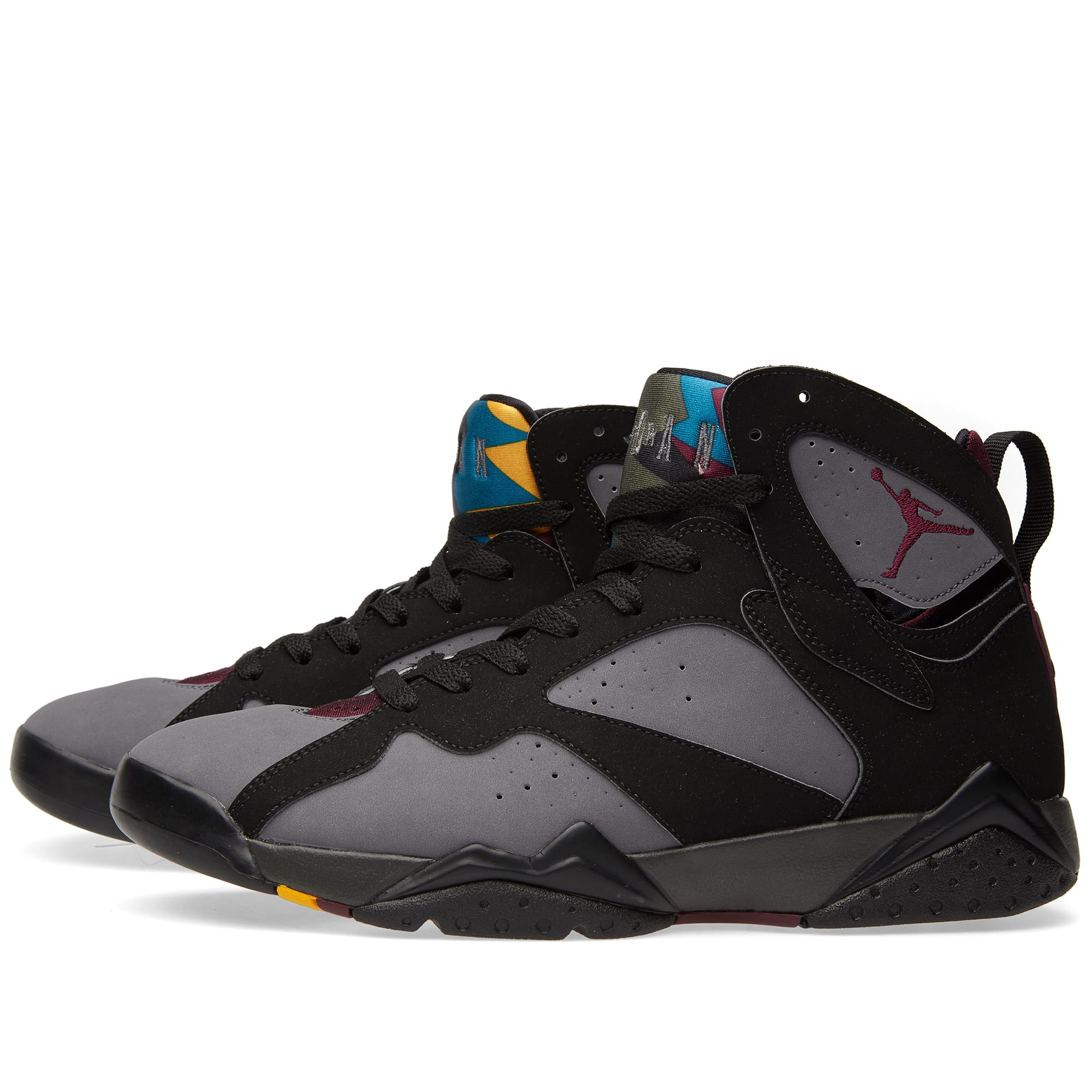 Nike Air Jordan VII Retro (Black, Bordeaux & Graphite) Nike Air Jordan 7 Retro