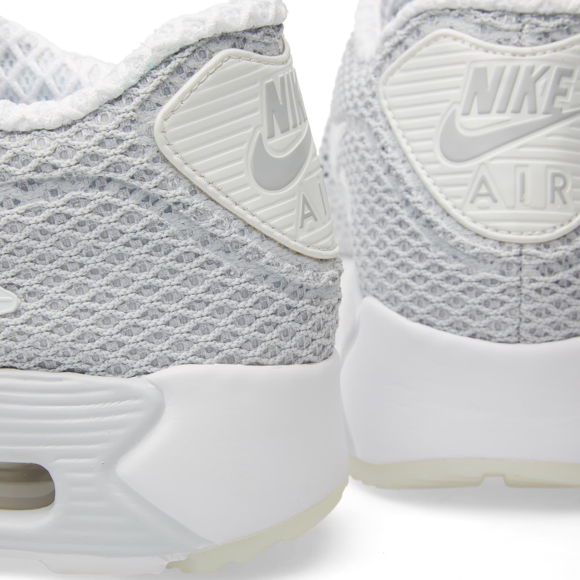 a8dd87a9e8 Nike Air Max 90 Ultra BR Plus QS Pure Platinum & White | END.
