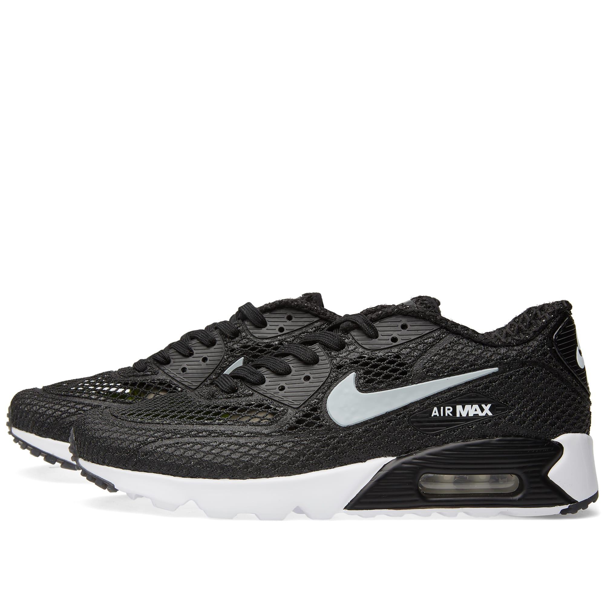 Nike Air Max 90 Ultra BR PLUS QS Black, Men's Fashion
