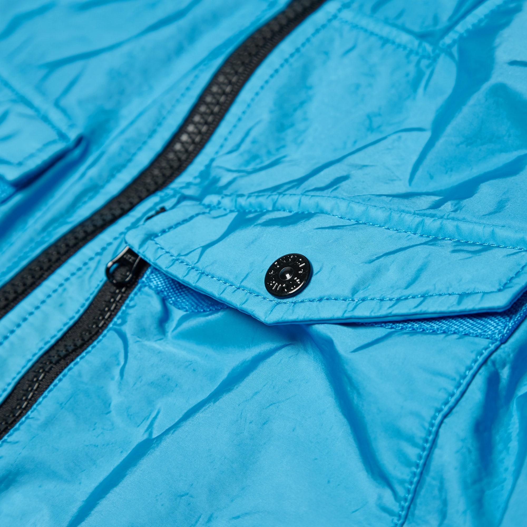 8e408564b Stone Island Flock Nylon Hooded Shirt Jacket