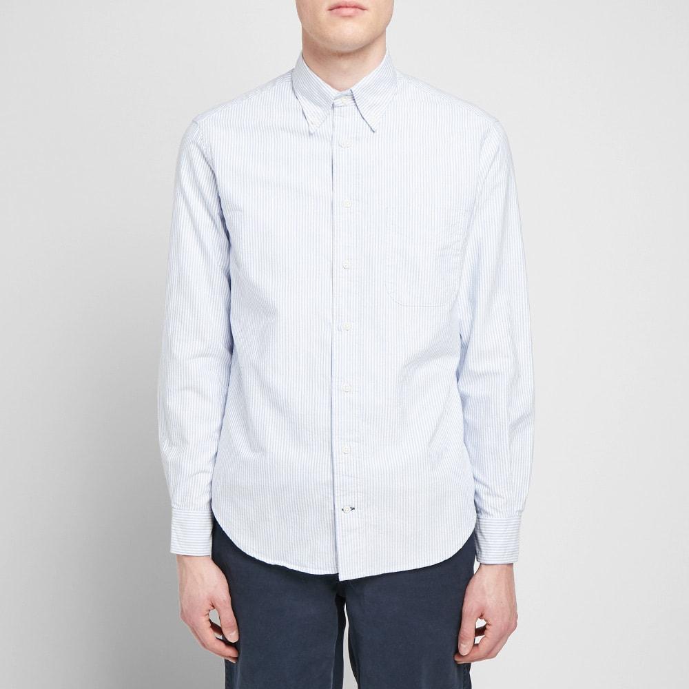 Gitman White Oxford Dress Shirt